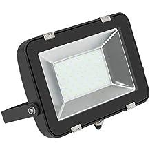 Biard Foco Proyector 50W LED para Exterior - Equivalente a 250W - Alta Potencia - Diseño