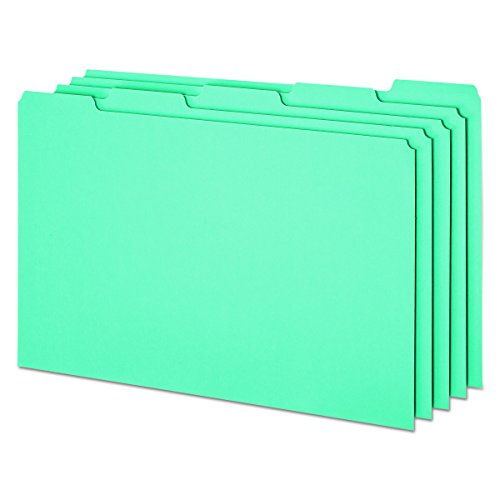 Pendaflex Datei Guides mit blanko Taben, Legal Größe, Blau Pressspan, 50pro Box (PN305) (Größe Guide)