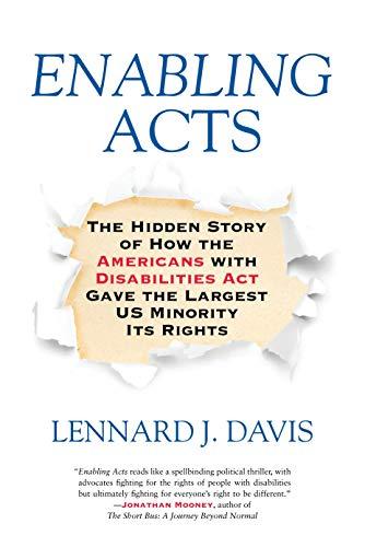 Enabling Acts por Lennard J. Davis