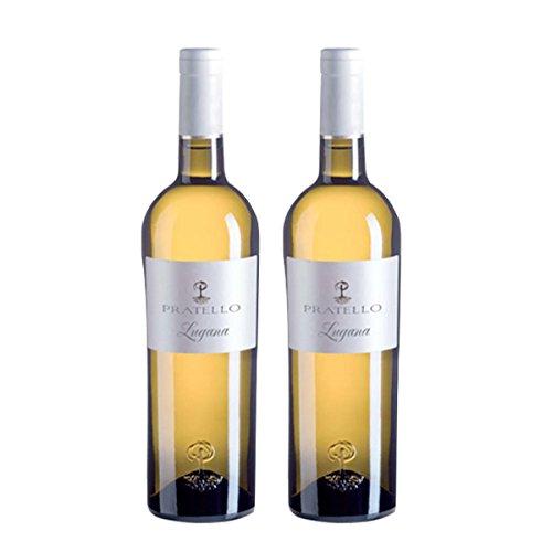 Vino bianco Lugana Doc Catulliano biologico 2X75 cl