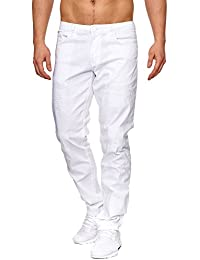 Tazzio Slim Fit Herren Destroyed Look Stretch Jeans Hose Denim 165251