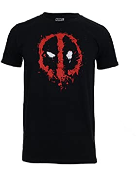 Marvel Deadpool Paint Logo, Camiseta para Hombre