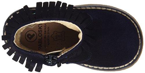 Pablosky 095228, Haute botte fille Bleu