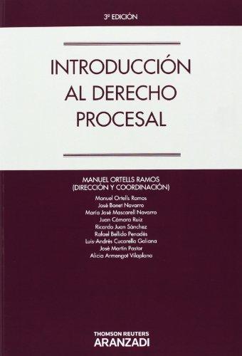 Introducción al Derecho Procesal (Manuales)