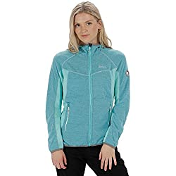 220gsm 100% polyester marl knit effect fleece. Extol stretch side, hood and underarm panels. Grown on hood. 2 zipped lower pockets. Stretch binding to hood opening, cuffs and hem.