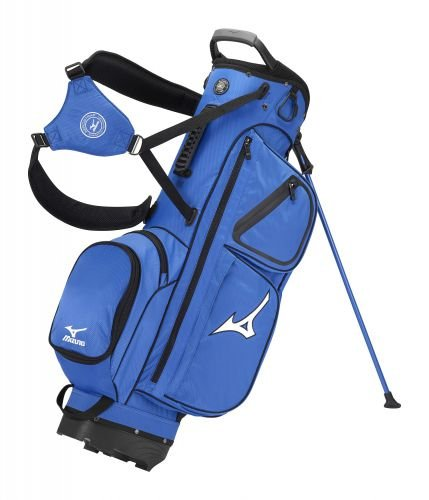 2015 Mizuno Elite Stand Bag Carry Mens Golf Bag 4-Way Divider Royal