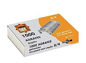JPC Lot de 3 boites 1000 agrafes 8/4 galvanisees
