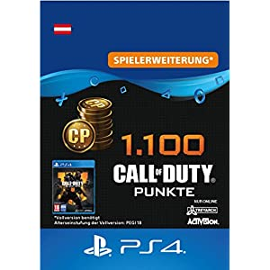 1.100 Call of Duty : Black Ops 4-Punkte – 1100 Points DLC | PS4/PS3 Download Code – österreichisches Konto