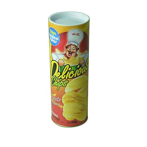 treich Requisiten Kartoffelschlange Gefälschte Schlange Kartoffelchip Tricky Toys - Braun ()