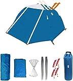 Zenph Tenda da Campeggio, 2 Persone 3-4 Stagioni Camping Backpacking Tenda Ultra Leggera, Impermeabile Resistente per Il Campeggio, Backpacking