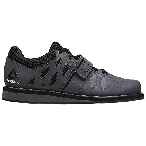 Reebok Herren Lifter Pr Multisport Indoor Schuhe, Grau Ash Grey/Black/White, 45.5 EU -