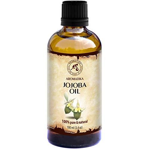 Jojoba Öl Gold Native - Reines - Naturreines Jojobaöl 100ml - Glasflasche - Argentinien - Intensive Pflege Für Gesicht - Körper - Haare - Für Massage - Körperpflege