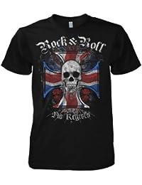 Rock Style Union Jack Cross 701380 T-Shirt