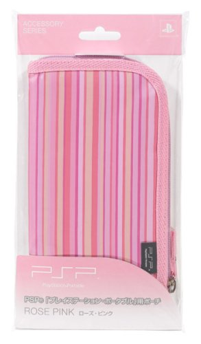 Official Sony Slim Psp Pouch For 2000 & 3000 Model Rose Pink Color