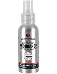 Lifeventure Expedition Endurance - Repelente para insectos (100 ml, con spray)