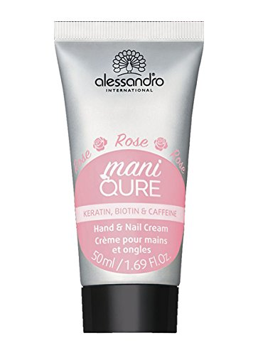 Alessandro International: maniQURE Rose en Fleur Hand- & Nagelcreme (50 ml)