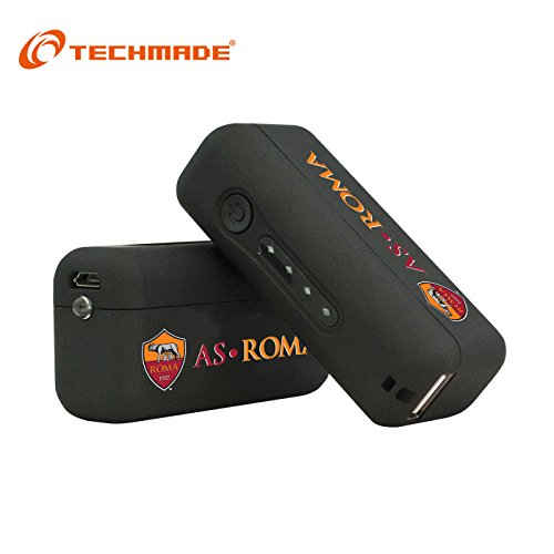 TECHMADE POWER BANK 2600 MAH AS ROMA
