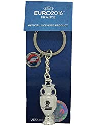Porte clé Réplique Trophée Euro 2016 de Football France - Collection officielle