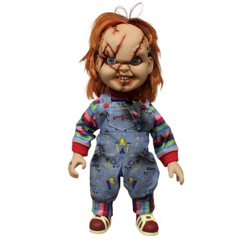 Mezco Toys - Figura Chucky de 38 cm con accesorios (NE78000)