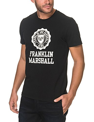 Franklin-amp-Marshall-Jersey-Tshirt-Black