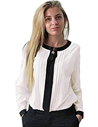 Chemisiers et blouses femme sur for Chemisier blanc femme chic