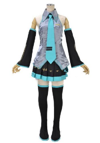 VOCALOID: Miku Hatsune - Cosplay Costume (Ladies (Miku Cosplay Uk Hatsune Kostüm)