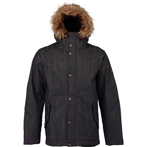 Burton Men's Cruiser Down Jacket Black Denim XL