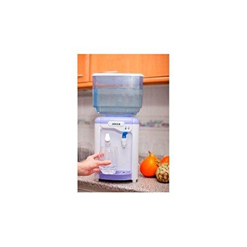 Jocca Wasserspender mit Tank, Weiß und Lila, 23x23x47,5 cm