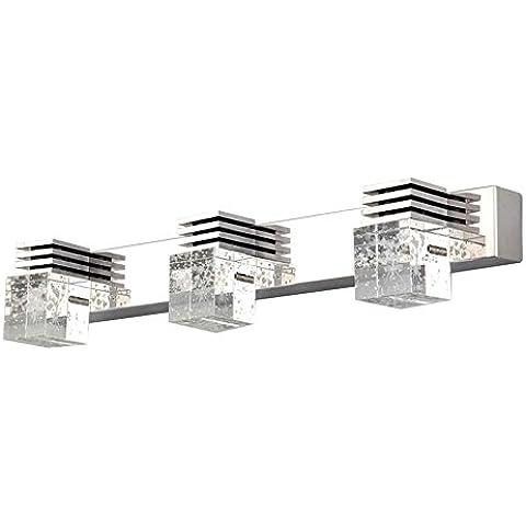 Moderno LED Lámparas de pared Cuarto de baño Maquillaje Iluminación Crystal Gabinete Espejo