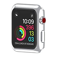 ‏‪Ultra-Slim Electroplate PC Hard Case Cover For Apple Watch Series 3 42mm‬‏