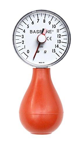 Baseline 12-0293 Ballon Manometer, 15 psi -