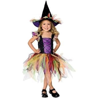 childrens glitter witch sequin girls fancy dress halloween