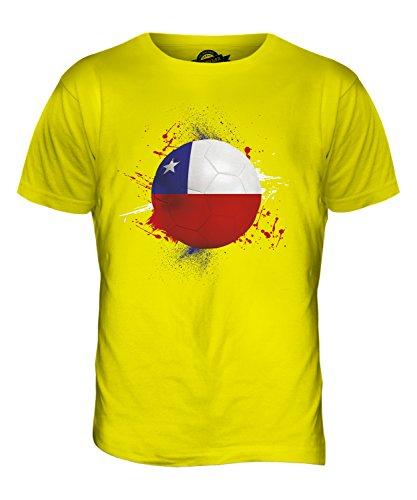 CandyMix Chile Fußball Herren T Shirt Zitronengelb