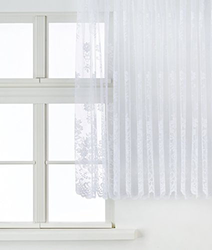 Anna Cortina Langstore, Stoff, Weiß, 160x600
