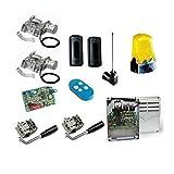 CAME FROG AE Kit automatisme pour portail à battant avec moteur souterraine jusqu'à 3,5m pour porte avec Encoder-complet de système en Tested 001u1924