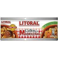 LITORAL Callos Madrileña - Plato Preparado Sin Gluten - Paquete de 12 x 380 gr - Total: 4.56 kg