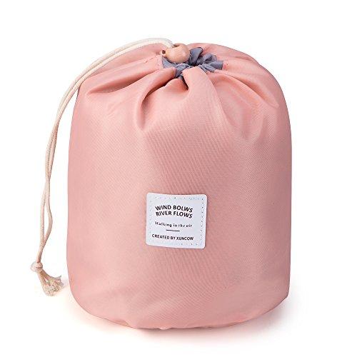 Rusty Bob - Kosmetiktasche für Reisen | Große Kulturtasche | Kulturbeutel | Waschbeutel | Kulturtasche Bad-Tasche | Damen und Herren (Pink)