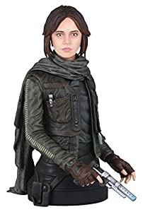 Busto Jyn Erso (Seal Commander) 16 cm. Rogue One: A Star Wars Story. Escala 1:6. Gentle Giant