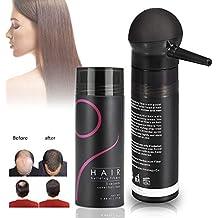 Crecimiento del Cabello Fibras para Pelo Corrector profesional Corrector para adelgazamiento del cabello Aerosol para el