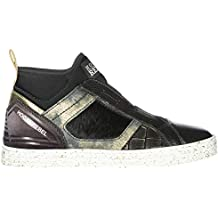 738249b8c2fbe Hogan Rebel Sneakers Alte R182 Donna Nero .