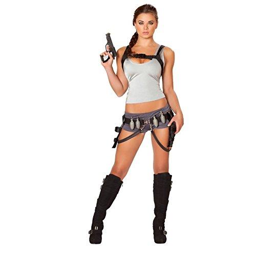 Sexy Treasure Huntress Womens Costume -Womens ()