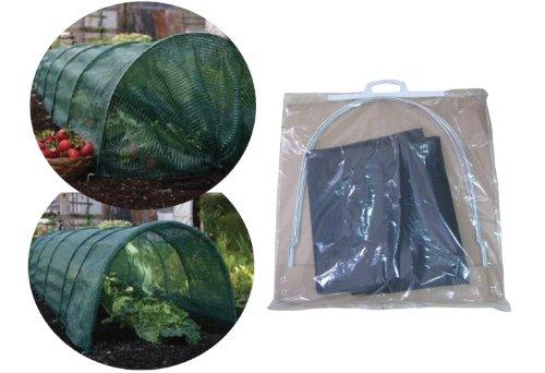 Garden Pleasure Pflanztunnel Netz Pflanzenschutznetz Pflanzenschutztunnel (2 Stück)