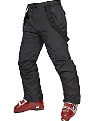 Trespass Boys Glasto Waterproof Padded Salopette Ski Trousers