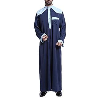 Bmeigo Herren Middle Eastern Arabian Dishdasha Muslim Thobe Thawb