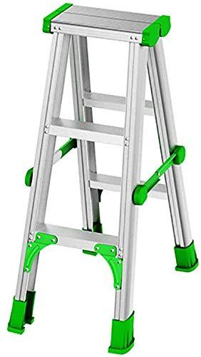 GBX Fácil Y Multifuncional Plegable Conveniente Taburete de Paso, Artículos para el Hogar Escalera...