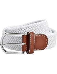 Lannister Fashion Cinturón De Tela Trenzada Unisex Cinturón De Cinturón  Regalos Tela De Banda Cinturón De Tejido… 499c60723cbe
