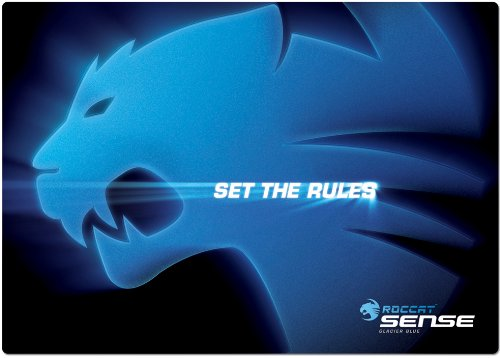 Roccat 8004050 - Sense Glacier Blue, Tappetino per Mouse