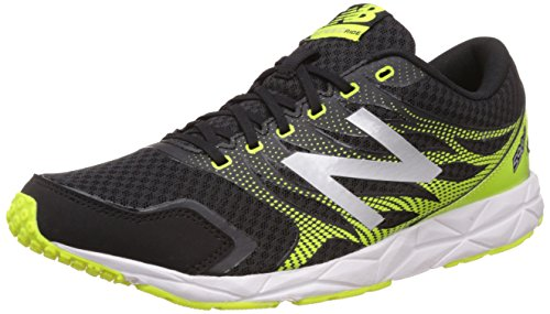 New Balance 590, Zapatillas de Running Hombre, Multicolor (Black/Yellow 065), 45 EU