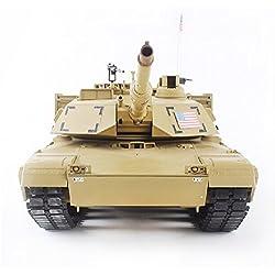 MODELTRONIC Tanque U.S. M1A2 1:16 2.4G Heng Long Desert 3918-1