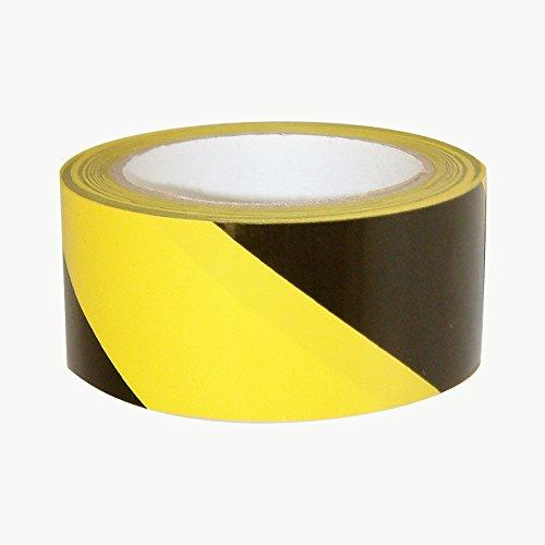 jvcc-hz-8lp-laminated-premium-hazard-warning-tape-2-in-x-18-yds-black-with-yellow-stripes